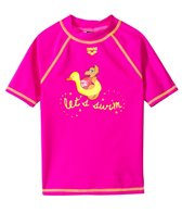 Arena Water Tribe Girls S/S Swim Shirt