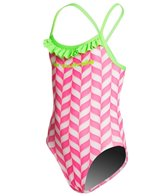 Slix Australia Strawberries & Cream Youth One Piece Swimsuit