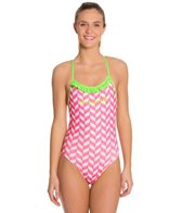 Slix Australia Strawberries & Cream Women's One Piece Swimsuit