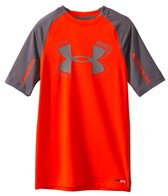 Under Armour Boys' Heatgear Armour UPF 50 1/2 Sleeve Tee (6yrs-20yrs)