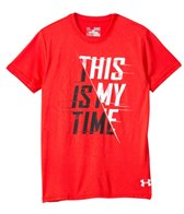 Under Armour Boys' This Is My Time S/S Tee (6yrs-20yrs)