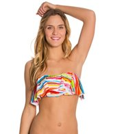 Raisins Tribal Wave Shayla Bandeau Bikini Top