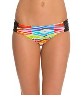 Raisins Tribal Wave Strappy Cocoa Beach Bikini Bottom