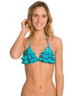 Raisins All That Glitters 3 Tier Slide Triangle Bikini Top