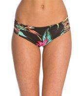 Stone Fox Swim Black Ginger Bali Braided Bikini Bottom