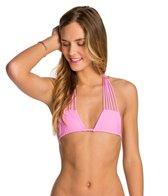 Stone Fox Swim Solid Natasha Strappy Triangle Bikini Top