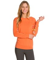 Cozy Orange Starling Top
