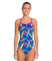 Waterpro Neon One Piece Swimsuit