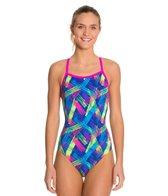 Waterpro Neon One Piece Swimsuit