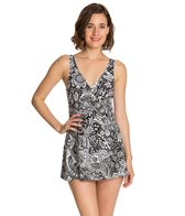 Maxine Patchwork Paisley Empire Swimdress