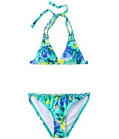 O'Neill Girls' In Bloom Braided Tri Set (7yrs-14yrs)