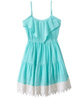 O'Neill Girls' Abigail Ruffle Dress (7yrs-14yrs)