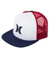 Hurley Men's Blocked Trucker Hat