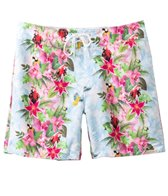 Sauvage St. Tropez Tropical Jungle Print Boardshort