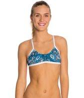 HARDCORESPORT Women's Blue Jules Element Swimsuit Top