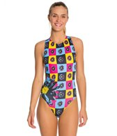 HARDCORESPORT Women's Pop Water Polo One Piece Swimsuit
