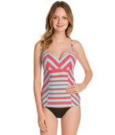 Coco Rave We Love Stripes D/DD Cup Tankini Top