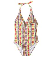 PilyQ Girls' Sunbeam Fringe One Piece (8yrs-14yrs)