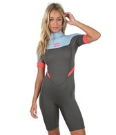 Billabong Women's 2MM Synergy Back Zip Spring Suit