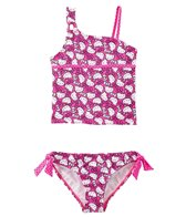 Hello Kitty Girls' Playful Pink Tankini Set (7yrs-14yrs)