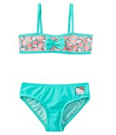 Hello Kitty Girls' Sweet Dreams Bandeau Bow Two Piece Set (4yrs-6X)