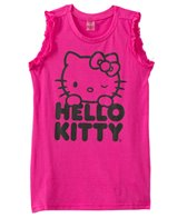 Hello Kitty Girls' Ruffle Tank Cover Up (4yrs-6X)