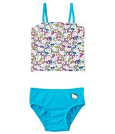 Hello Kitty Girls' Kitty Tankini Two Piece Set (2T-4T)