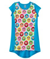 Paul Frank Girls' Julius Circles Hi Lo Cover Up Dress (2T-4T)