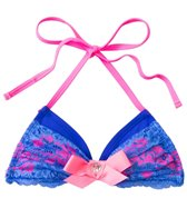 California Kisses Girls' Double Trouble Tri Halter Top (7yrs-14yrs)