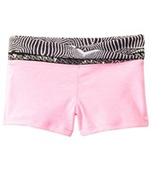 California Kisses Girls' Glam Rox Zebra Waist Boyshort (7yrs-14yrs)