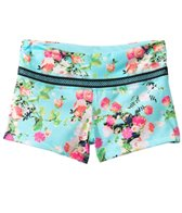 California Kisses Girls' Gypsy Rose Boyshort (7yrs-14yrs)