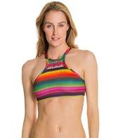 PilyQ Maya Gypsy Halter Bikini Top