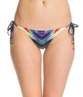 PilyQ Girl On Fire Full Tie Side Bikini Bottom