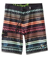 Maui and Sons Men's Neon Wave Boardshort