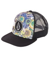 Volcom Boys' Coast Print Snapback Hat