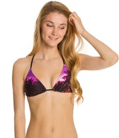Roxy Midnight Swim Tiki Triangle Bikini Top