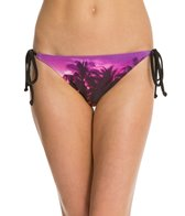 Roxy Midnight Swim Mini Tie Side Bikini Bottom