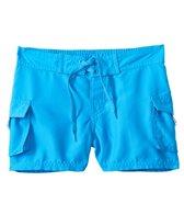 Sunshine Zone Girls' Solid Pocket Water Shorts (7yrs-16yrs)