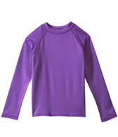 Sunshine Zone Girls' Solid L/S Rashguard (2T-4T)