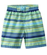 Sunshine Zone Boys' Stripe Boardshort (2T-4T)