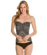 Robin Piccone Renee Batik Twist Bandini Bikini Top