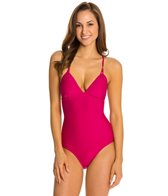 Helen Jon Bora Bora Solid Tie Back One Piece