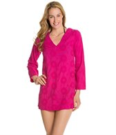 Helen Jon Bora Bora Embroidered V-Neck Cover Up Tunic
