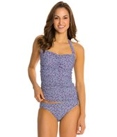 Helen Jon Costa Azul Convertible Retro Tankini Top
