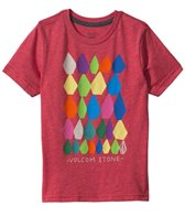 Volcom Boys' Stone Stack S/S Tee (4yrs-7X)