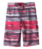 Sunshine Zone Colored Waves E-Boardshort