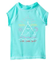 Billabong Girls' TeePee S/S Rashguard Set (4yrs-6X)