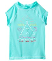 Billabong Girls' TeePee S/S Rashguard Set (7yrs-14yrs)