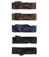 Emi-Jay Solid 5-Pack Hair Ties