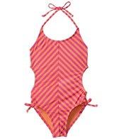 Roxy Girls' Flamingo Beach One Piece (8yrs-16yrs)